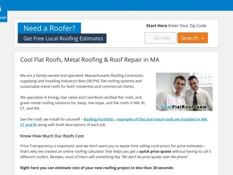 Flat Roofing MA