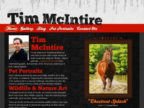 Tim McIntire Pet Portraits