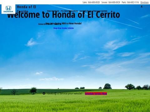 Honda of El Cerrito in California - New, Certified pre-owned