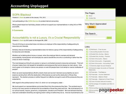 Accounting Unplugged
