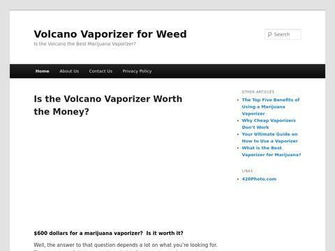 Volcano Vaporizers for Weed