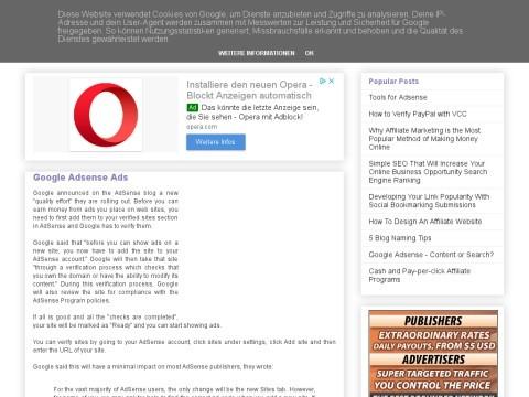Google Adsense Tips to Help You Make Money Online