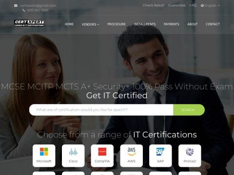 Microsoft Training Cisco Training compTIA Training Course