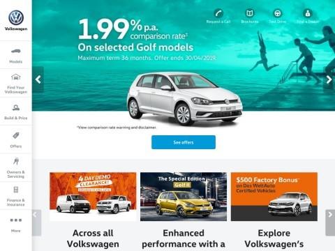 Volkswagen Cars Australia