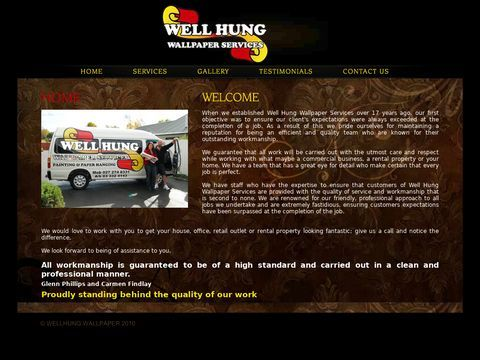 Well Hung | Professional, Quality Wallpaper Services | Painting, Paper Hanging | Christchurch