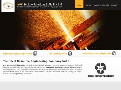 Steel Plant Equipment | Mass Flow Controllers | ASC TSI