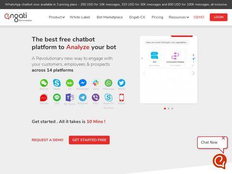 Engati Chatbot Platform