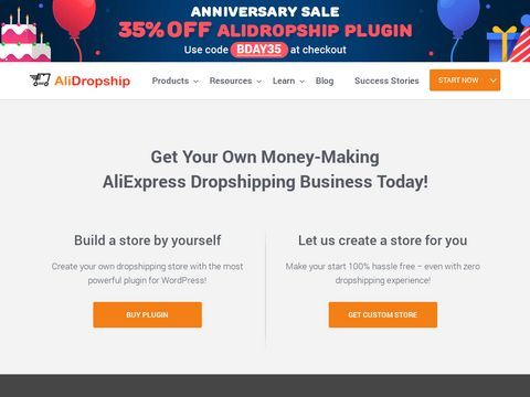 AliExpress Dropshipping Business - All-in-one Wordpress Solution