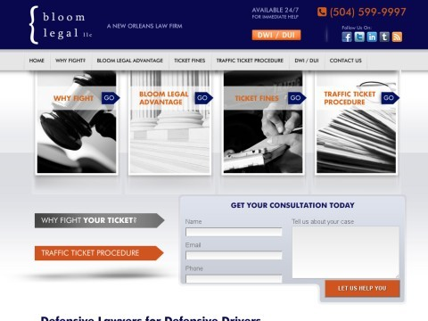 New Orleans Traffic Ticket Defense Law Firm