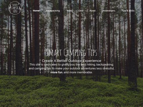 Smart Hiking And Camping Tips