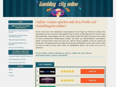 Online gambling List