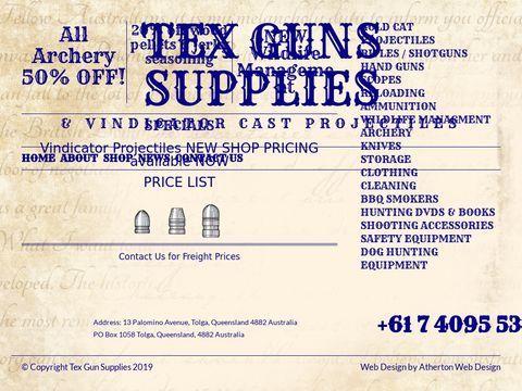 Tex Gun Supplies
