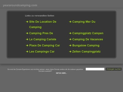 Markating camping equipment, tents, backpacks, sleeping bags