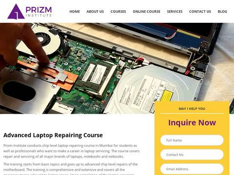Laptop Repairing Course Institute