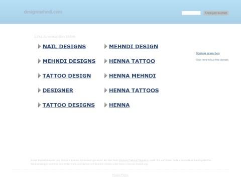 Design Mehndi