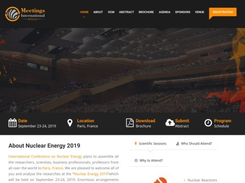 International conference on nuclear energy 2018