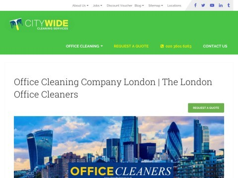 Citywide Cleaning Services - Office Cleaning London
