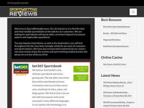 Sports Betting Reviews