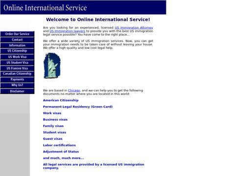 Online International Service