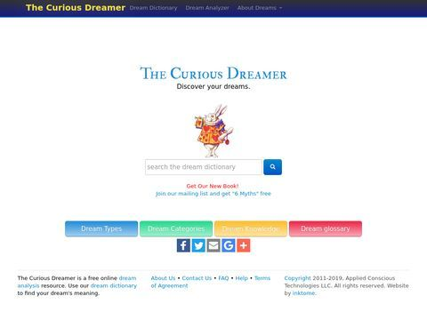 The Curious Dreamer Dream Dictionary