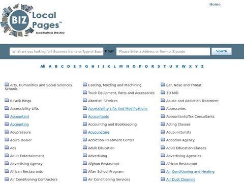 BizLocalPages - www.bizlocalpages.com