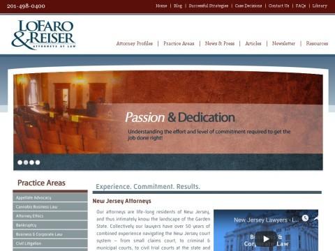 New Jersey Attorneys - LoFaro & Reiser LLP
