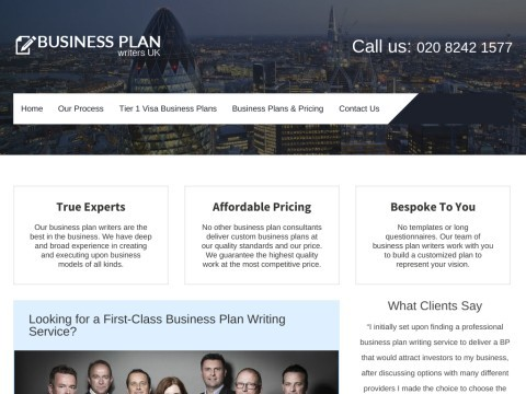 Business Plan Writers UK