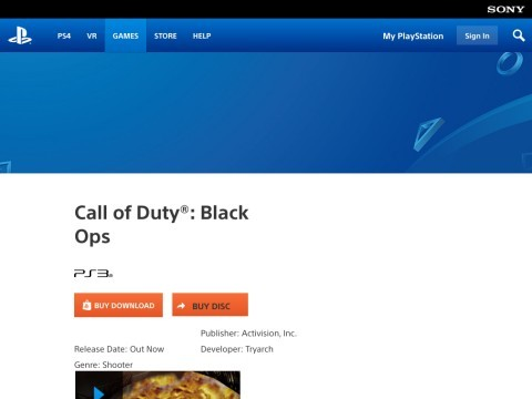Buy Call of Duty : Black Ops