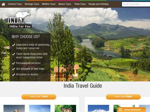 India tourism and travel information