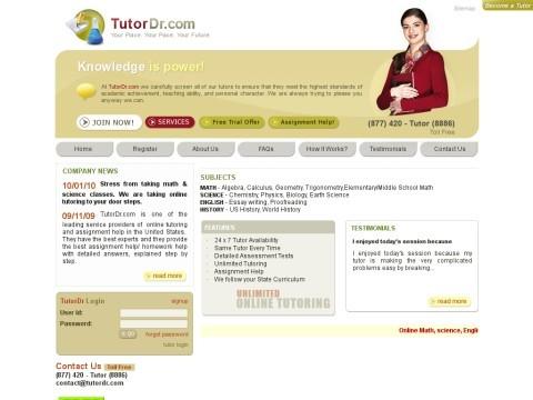 Online Tutoring |  Math | Science | English | History