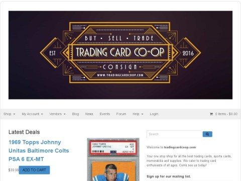 Trading Card CO - OP