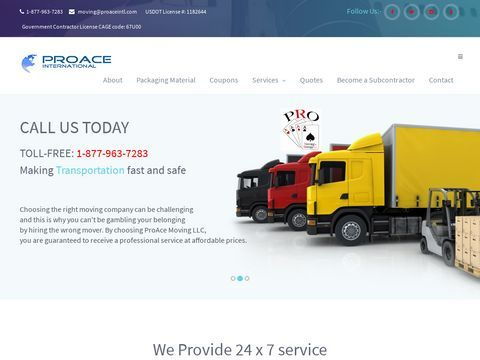 ProAce International Moving and Storage