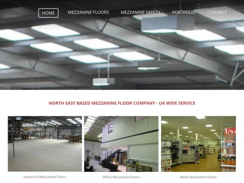 The mezzanine floors company