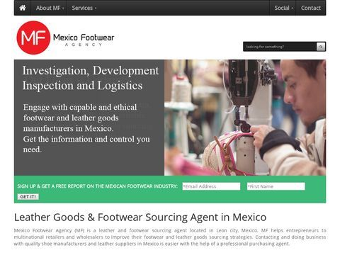Footwear Sourcing Agent in Mexico : Find mexican shoes & leather goods in Mexico | Mexico Footwear