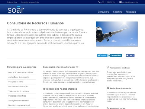Consultoria de Recursos Humanos | Soar Desenvolvimento Humano | Santos/SP