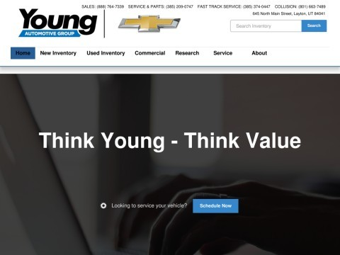 Young Chevrolet - Leading Chevrolet car dealer