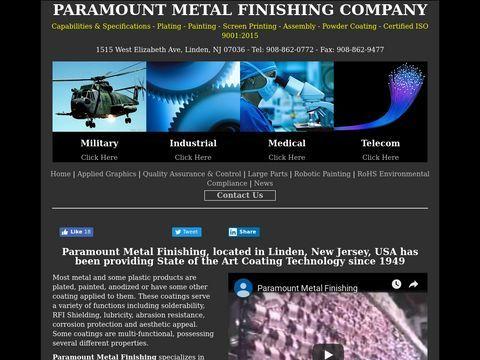 Paramount Metal Finishing