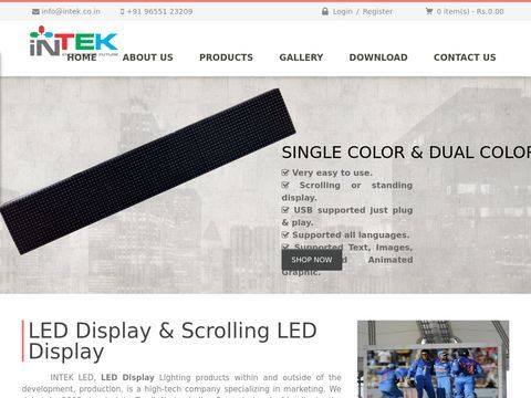 Outdoor LED Display | Intek