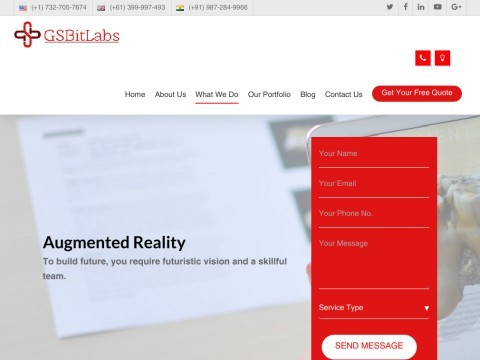 Augmented Reality, Artificial Intelligence App Development