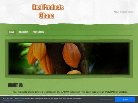 Real Products Ghana - Cocoa Manufacturer