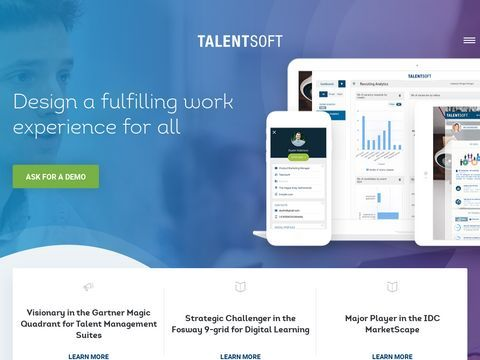 TalentSoft Your Integrated Talent and Performance Management Software