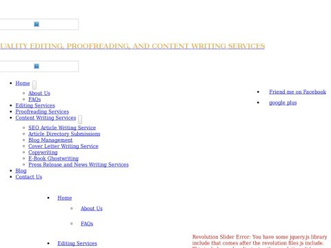 Edit Write Services