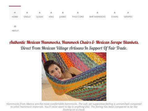 Mexican Hammocks Mayan Hammocks King Size Hammocks