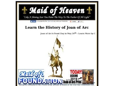 Joan of Arc History