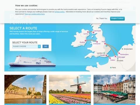 Dover to Calais - P&O Ferries