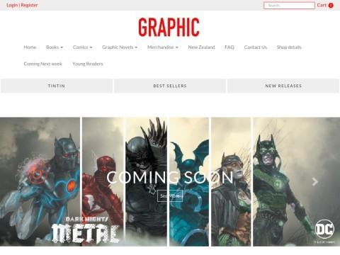 Graphic, New Zealands Comic Shop | Graphic Novel, Comics, Comic Supplies