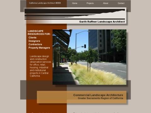 Garth Ruffner Landscape Architect