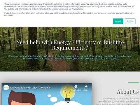 Sustainabilty WA | 6 Star Energy Rating Specialist