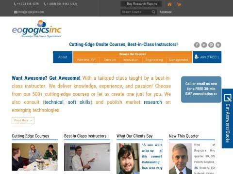 Eogogics Inc:  Telecom, IT & Soft Skill Training &