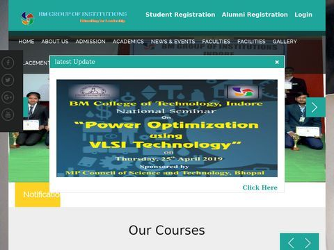Best CS| IT Engineering| B pharmacy College in MP, India